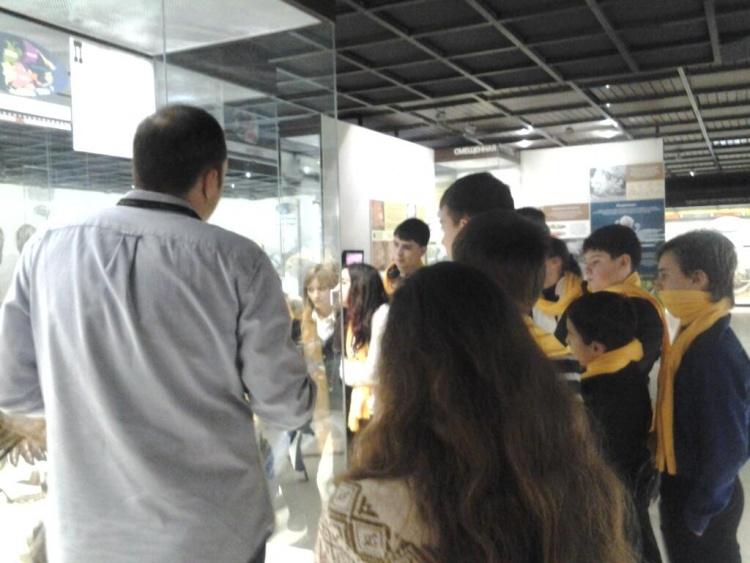 Посещение школьниками Дарвинского музея