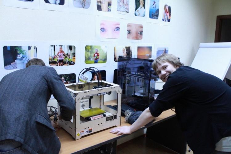 принтеры 3D Touch и MakerBot